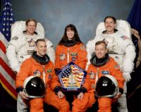 STS-104 Official NASA Crew Portrait